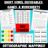 Short Vowel Sentence Reading, Spelling, Comprehension: 87