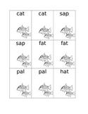 Short Vowel Sets a, e, i, o, and u Go Fish Cards