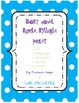 Short Vowel Single Syllable Activity Packet!