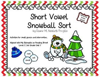 Short Vowel Snowball Sort