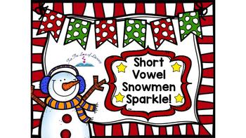 Short Vowel Snowman Sparkle