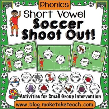 Short Vowels - Soccer Shoot Out!