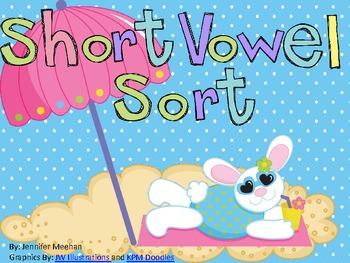 Short Vowel Sort-Beach Themed