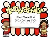 Short Vowel Sort CVC, CCVC and CVCC