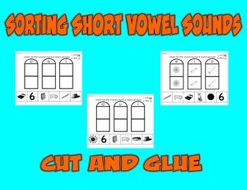 Short Vowel Sort - Cut and Glue