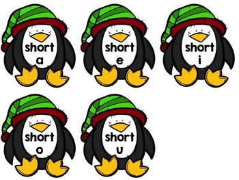 Short Vowel Sort {{EDITABLE Winter Edition}}