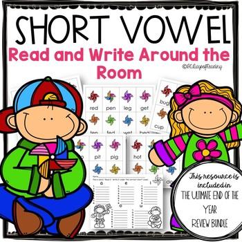 Short Vowel Review Game CVC words