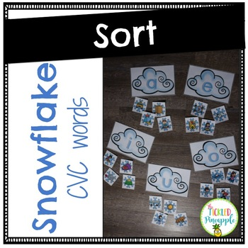 Short Vowel Sort-Snowflakes