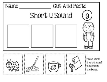 Short Vowel Sort Worksheets
