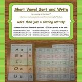 Short Vowel Sort and Write