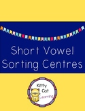 Short Vowel Sorting Center Activities