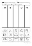Short Vowel Sorting Sheet