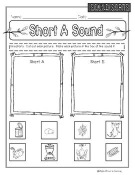 Short Vowel Sorts
