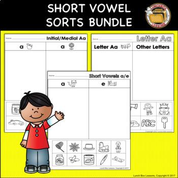Short Vowel Sorts BUNDLE!
