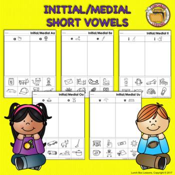 Short Vowel Sorts- Initial/Medial Sounds