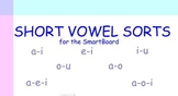 Short Vowel Sorts for the SmartBoard