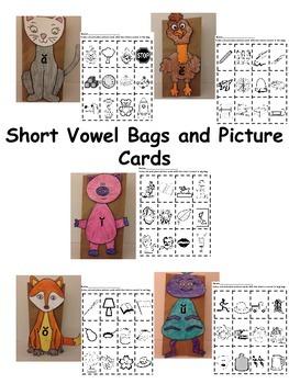 Short  Vowel Sound Bags