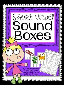 Short Vowel Sound Boxes