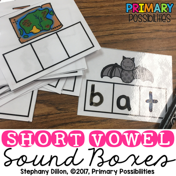 Short Vowel Sound Boxes