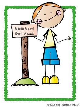 Short Vowel Sound Bulletin Board Posters