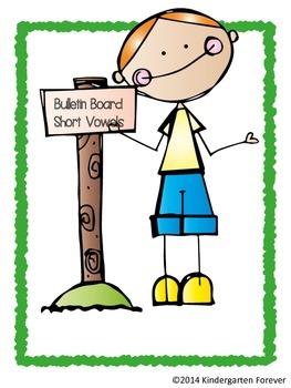 Short Vowel Sound Bulletin Board Posters