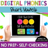 Short Vowel Sound Tappers - Digital Phonics Learning {PowerPoint Games}