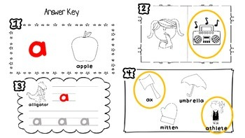 Short Vowel Sounds - 5 Lessons Printable!