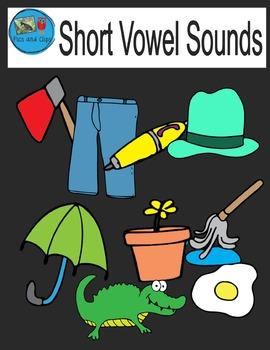 Short Vowel Sounds Clip Art