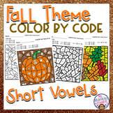 Fall Color by Code Short Vowels