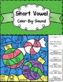 Short Vowel Sounds ~ Color by Sound ~ Christmas Ornaments