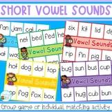 Short Vowel Sounds Match Up