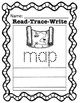 Read-Trace-Write CVC Short Vowel Words