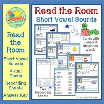 Read the Room Short Vowels
