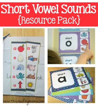 Short Vowel Sounds Resource Pack
