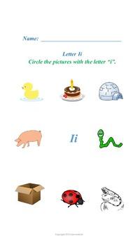 Short Vowel Sounds Worksheets
