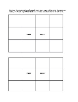 Short Vowel Spelling List and Worksheets (Advanced K, 1st, & resource learners)