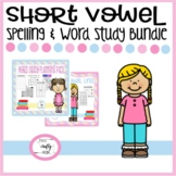 Short Vowel Spelling and Word Study Bundle