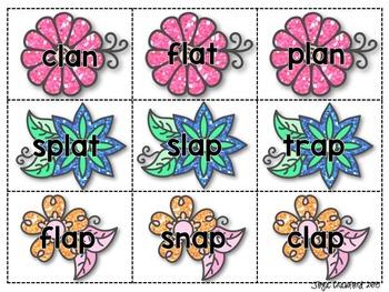 Short Vowels Game: Spring SPLAT!