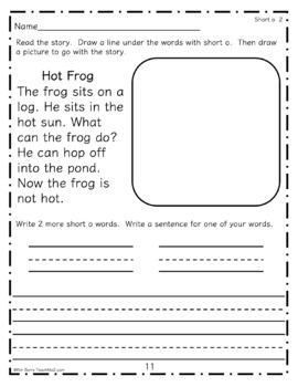 Short Vowel Stories