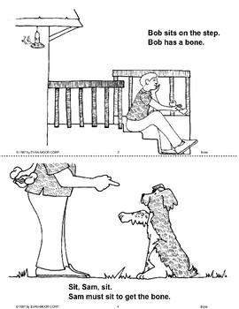 Short Vowel Stories: A Bone for Sam