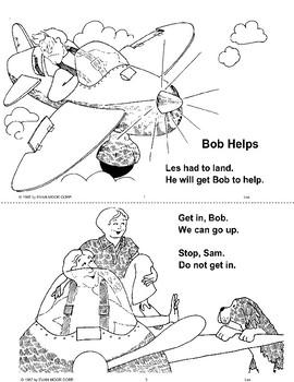 Short Vowel Stories: Bob Helps
