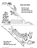 Short Vowel Stories: Bob and Sam