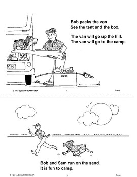Short Vowel Stories: Camp