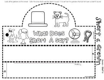 Short Vowels Bundle short a, short e, short i, short o, short u