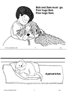 Short Vowel Stories: Pam's Pet