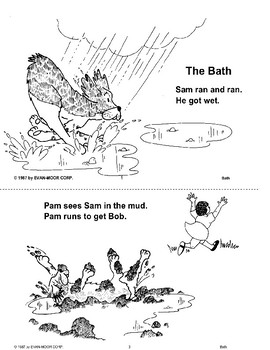 Short Vowel Stories: The Bath
