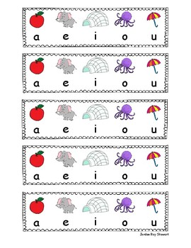 Short Vowel Strip