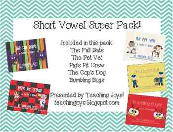 Short Vowel Super Pack!