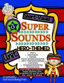 Short Vowel Super Sounds: CVC Short-A