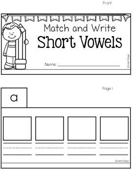 Short Vowel Tabs Book